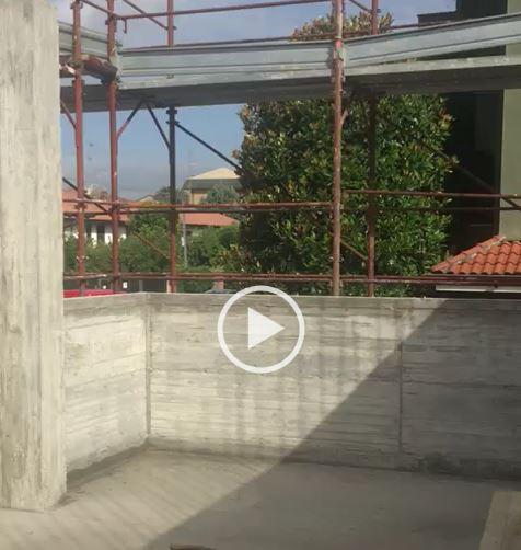 Leonardo House: la seconda soletta