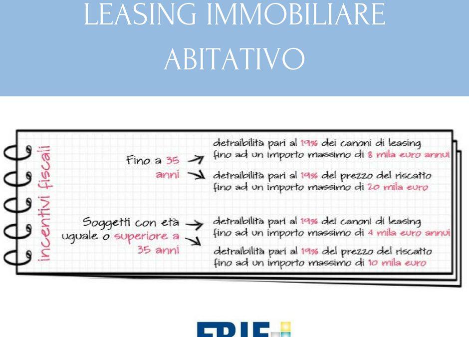 Leasing immobiliare abitativo: chi può richiederlo?