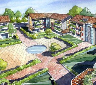 Buscate (MI) – Residenza I Giardini del Borgo